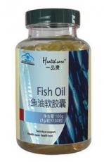 一品康鱼油软胶囊  调节血脂 改善记忆力