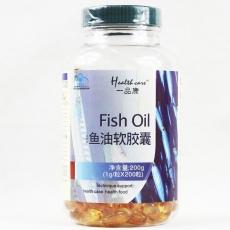 一品康正品鱼油软胶囊   缓解视力衰退 提高记忆力