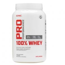 美国GNC100%乳清蛋白粉909克 2磅 草莓口味 提高免疫