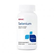 美国GNC硒元素 200mcg*200片 提高免疫力抗衰