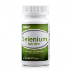 美国GNC硒片100mcg*100片抗衰老防癌变排毒
