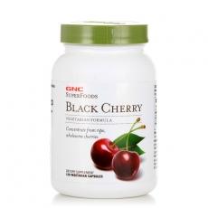 美国GNC黑樱桃浓缩精华250MG*120粒 调节尿酸 改善痛风