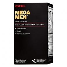 美国GNC男性维生素矿物质植物精华缓释片180粒