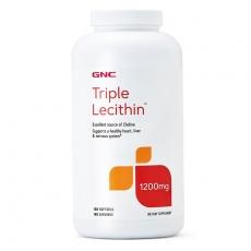 美国GNC三重卵磷脂180粒 调血脂/保护肝脏