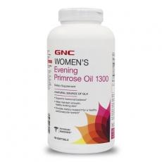 美国GNC月见草油1300mg 180粒调节女性身体平衡