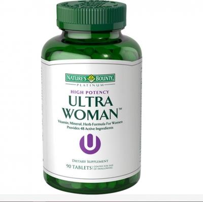 美国自然之宝综合营养片Ultra Woman(女士专用)