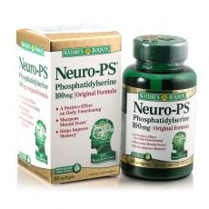 自然之宝磷脂酰丝氨酸软胶囊 营养大脑 增强记忆力