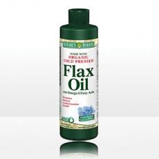 自然之宝冷榨亚麻籽油 植物液体黄金 健脑益智