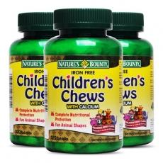美国自然之宝儿童果蔬综合营养咀嚼片 (儿童多维咀嚼片)