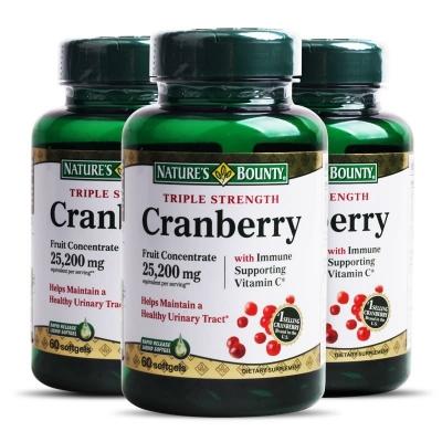 自然之宝蔓越莓浓缩提取物软胶囊 女性泌尿系统保健