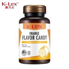 康力士鲜橙口味咀嚼片(含维生素C) 100片