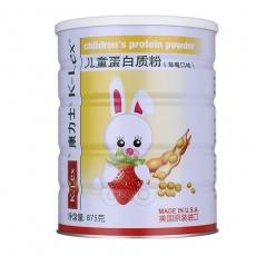 阿拉斯加康力士儿童蛋白质粉 草莓味 875g【美国原装进口】