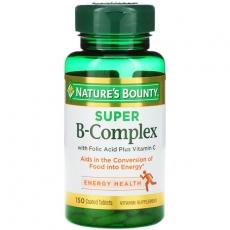 自然之宝谷物提取物营养片(B族维生素)100粒 液态形式,利用率更高