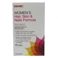 GNC水解胶原蛋白营养片120粒 头发皮肤指甲配方