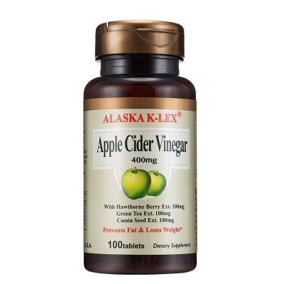 [美国进口]康力士苹果醋复合片100片 减肥塑身