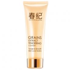 春纪五谷菁纯嫩滑洁面爽乳120ml 保湿 敏感肌肤洗面奶