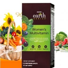 美国GNC超级女性绿源综合维生素120粒缓释 防衰老 增强免疫