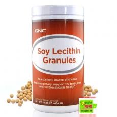 美国GNC大豆卵磷脂完全颗粒 健脑清脂保肝营养品