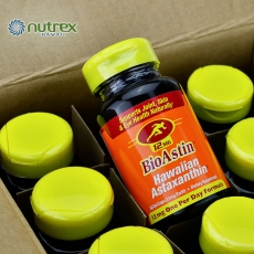 Nutrex Hawaii Bioastin奥斯汀天然虾青素软胶囊12mg50粒夏威夷雨生红藻美国原装正品