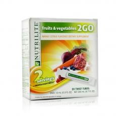 美产安利纽崔莱2GO浓缩高能果蔬饮料 果味饮料