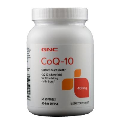 美国GNC辅酶Q10软胶囊 400mg保护心脏