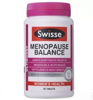 澳洲swisse大豆异黄酮片 延缓更年期 调节月经