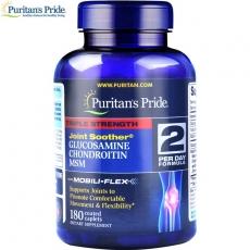 Puritans Pride普丽普莱三倍浓度氨糖MSM软骨素复合片