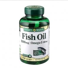 自然之宝欧米伽-3高纯深海鱼油100粒 预防三高