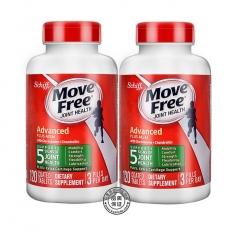 美国Schiff Move Free氨糖软骨素绿瓶盒加强型维骨力