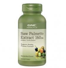 美国GNC锯棕榈提取物浓缩软胶囊