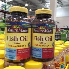 美国NatureMade深海鱼油软胶囊