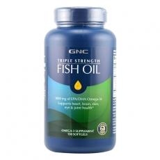 美国GNC三倍功效高浓缩深海鱼油