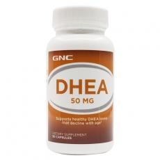 美国GNC DHEA 青春素 增大受孕几率 抗衰老 保护卵巢