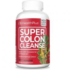 美国Health Plus Super Colon Cleanse清肠纤维素胶囊