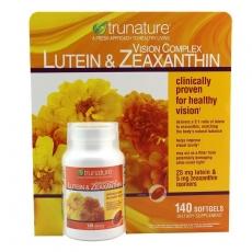 美国TrunatureLutein叶黄素玉米黄质软胶囊