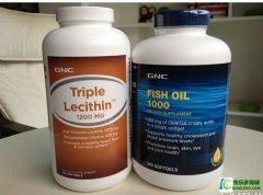 GNC深海鱼油+卵磷脂保护全家的健康