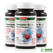 汤臣倍健辅酶Q10天然维生素E软胶囊护心脏