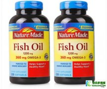 <b>美国Nature Made深海鱼油欧米伽-3鱼油软胶囊220粒</b>