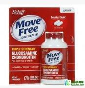 美国原装代购Schiff MoveFree氨基葡萄糖氨糖软骨