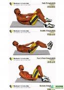 康比特健身|无器械,纯手工,练腹肌!