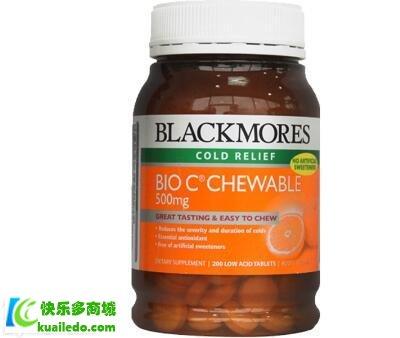 Blackmores维生素C咀嚼片效果好吗 了解维生素C的具体功效