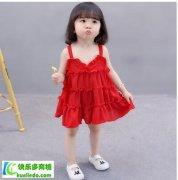 女宝宝无袖雪纺公主裙连衣裙质量好吗?
