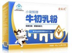 小袋熊牌牛初乳粉多大宝宝可以吃 介绍小袋熊牌牛初