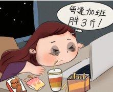 熬夜让人变肥胖 熬夜还可以让人变笨